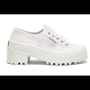 White Superga Sneakers